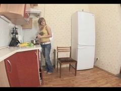 Kitchen Lezdom Part 1